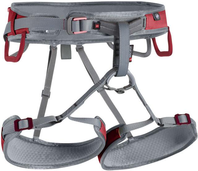 Mammut Klettergurt Petzl : Mammut ophir speedfit harness lava iron campz
